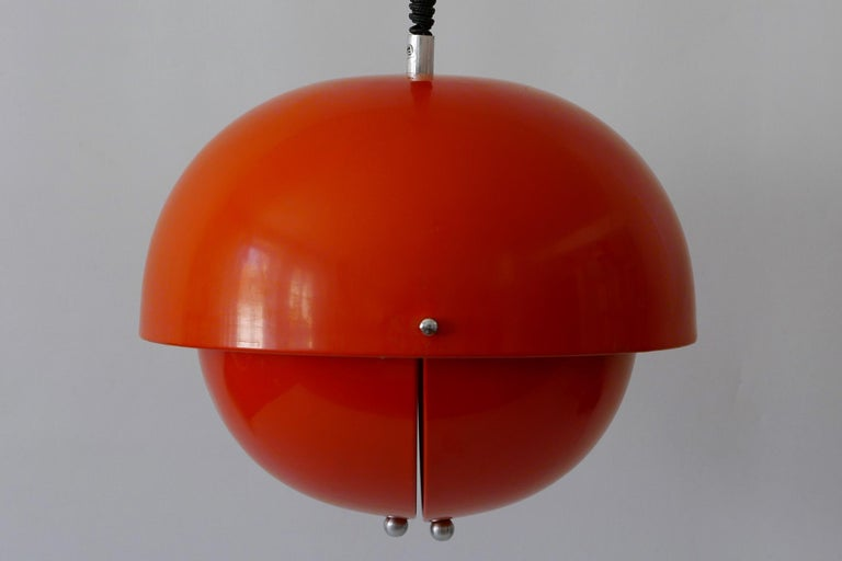 Amazing Mid-Century Modern Pendant Lamp or Hanging Light by Archi Design Italy For Sale 8
