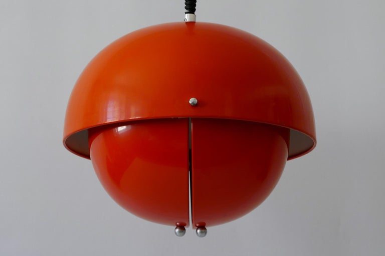 Amazing Mid-Century Modern Pendant Lamp or Hanging Light by Archi Design Italy For Sale 9