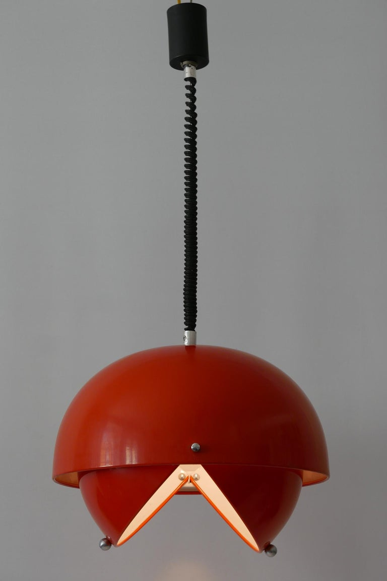 Mid-20th Century Amazing Mid-Century Modern Pendant Lamp or Hanging Light by Archi Design Italy For Sale