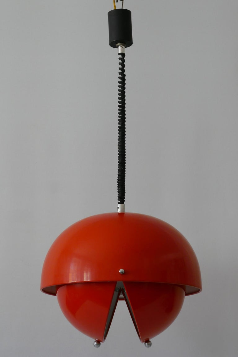 Metal Amazing Mid-Century Modern Pendant Lamp or Hanging Light by Archi Design Italy For Sale