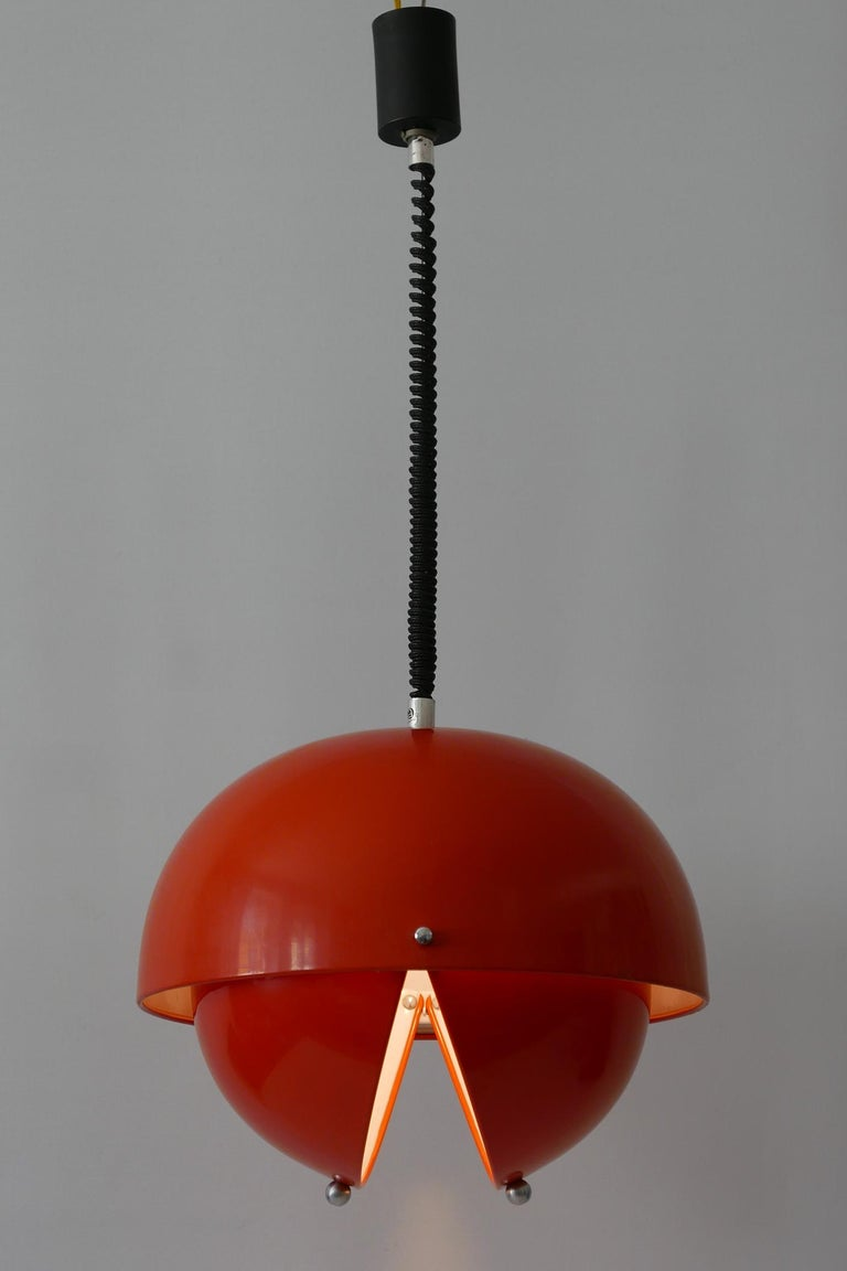 Amazing Mid-Century Modern Pendant Lamp or Hanging Light by Archi Design Italy For Sale 1