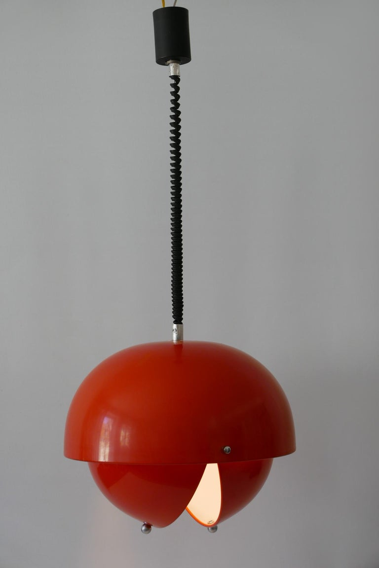 Amazing Mid-Century Modern Pendant Lamp or Hanging Light by Archi Design Italy For Sale 2