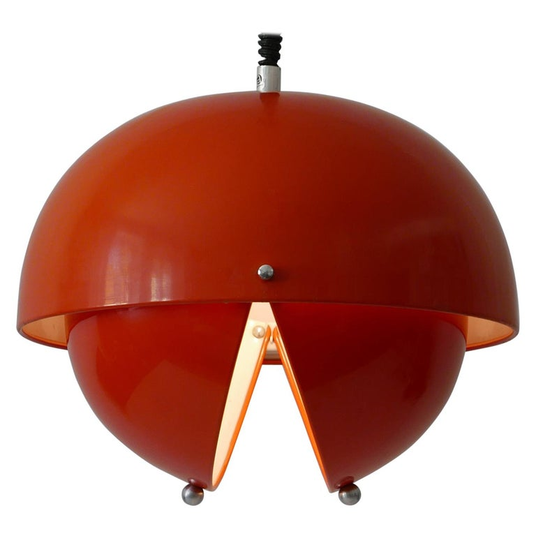 Amazing Mid-Century Modern Pendant Lamp or Hanging Light by Archi Design Italy For Sale