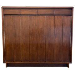 Amazing Midcentury Paul McCobb H Sacks & Sons 9-Drawer Tall Walnut Dresser