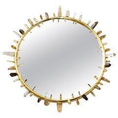 Amazing Mirror Object Citrine Crystal by Jaroslav Komon