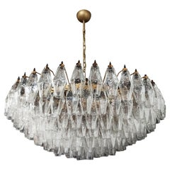 Amazing Murano Glass Candelier, 185 Poliedri