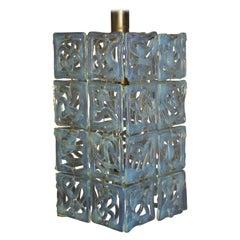 Amazing Murano Glass Chandelier Attr. to  Carlo Nason for Mazzega,  1960s