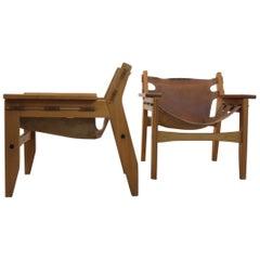 Amazing Sergio Rodrigues 'Kilin' Lounge Chair for Oca Industries, Brazil