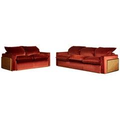 Amazing Set of 2 Sofas by Nucci Lasecchi
