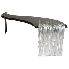 Amazing Silver Leaves and Macassar Console