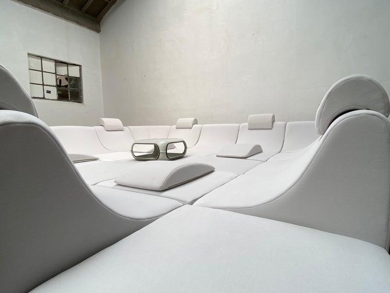 Amazing Space Age 'Pool' Modular Sofa, Luigi Colani for Rosenthal Germany, 1970 For Sale 10