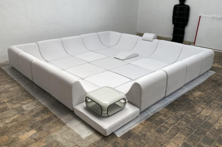Amazing Space Age 'Pool' Modular Sofa, Luigi Colani for Rosenthal Germany, 1970 In Good Condition For Sale In bergen op zoom, NL