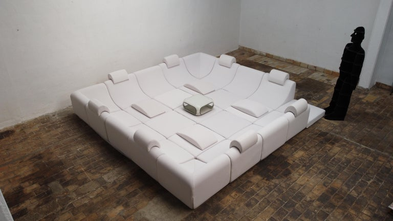 Late 20th Century Amazing Space Age 'Pool' Modular Sofa, Luigi Colani for Rosenthal Germany, 1970 For Sale