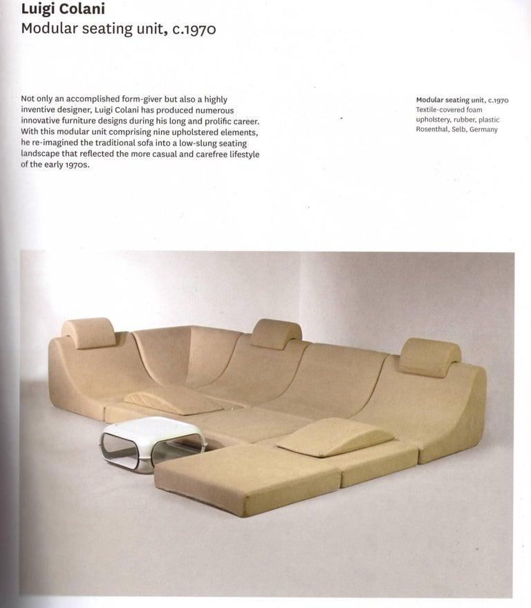 Amazing Space Age 'Pool' Modular Sofa, Luigi Colani for Rosenthal Germany, 1970 For Sale 2