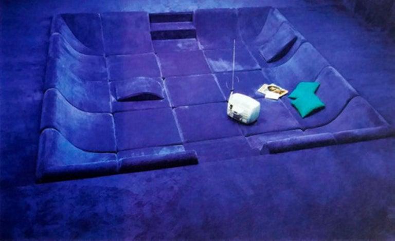Amazing Space Age 'Pool' Modular Sofa, Luigi Colani for Rosenthal Germany, 1970 For Sale 12
