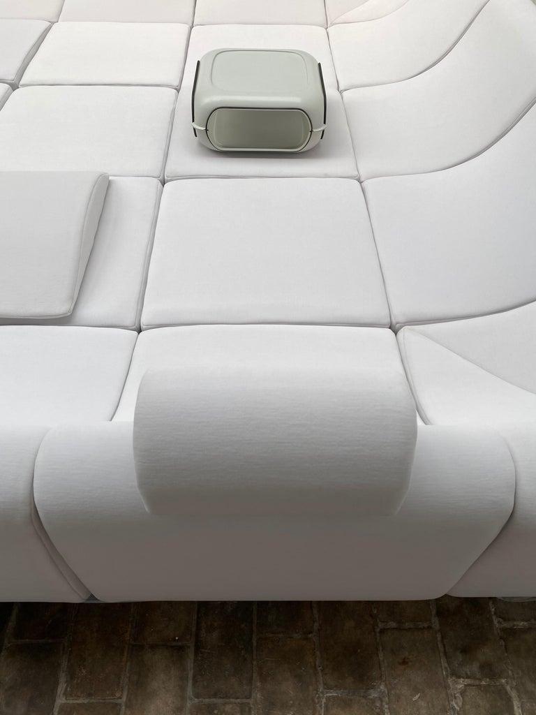 Amazing Space Age 'Pool' Modular Sofa, Luigi Colani for Rosenthal Germany, 1970 For Sale 8