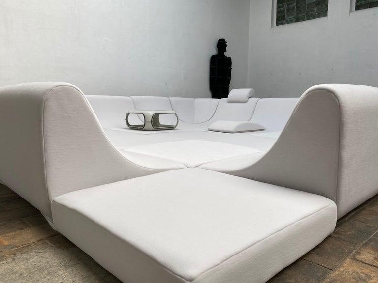 Amazing Space Age 'Pool' Modular Sofa, Luigi Colani for Rosenthal Germany, 1970 For Sale 3