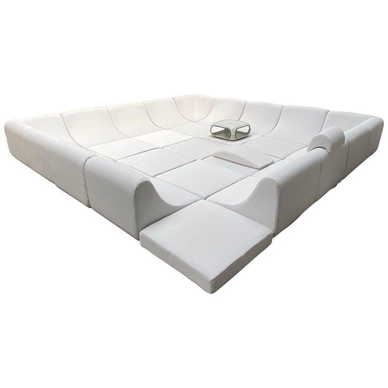 Amazing Space Age 'Pool' Modular Sofa, Luigi Colani for Rosenthal Germany, 1970 For Sale