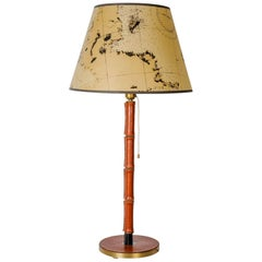Amazing Table Lamp by Jacques Adnet