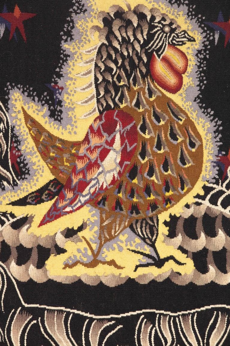 Modern Amazing Tapestry by Jean Lurçat, Midnight Sun