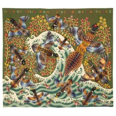 """Amazing Tapestry by René Perrot """"The Wave"""" 'La Vague'"""