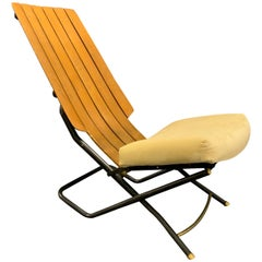 Amazing Transformation Chair from Italy Attributed to Oswaldo Borsani