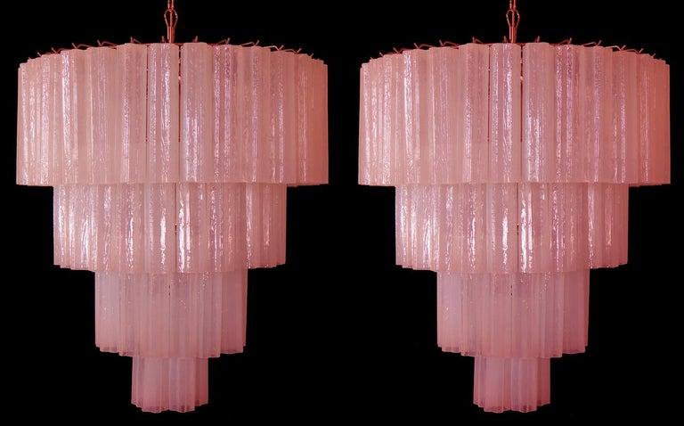 Contemporary Amazing Tronchi Chandelier Style Toni Zuccheri for Venini, Murano For Sale