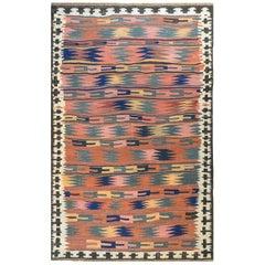 Amazing Vintage Bashir Kilim Rug