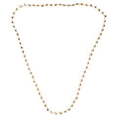 Amazon Long Chain Necklace Gold Vermeil