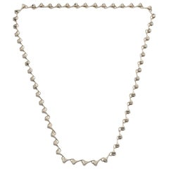 Amazon Long Chain Necklace Sterling Silver