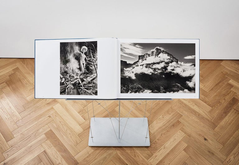 Steel Amazônia, SUMO, Limited Edition Signed Book & Exclusive Renzo Piano Bookstand For Sale