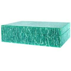 Amazonite Italian Hardstone Box