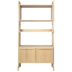 Amazzonia 90 Medium Oak Modular Bookcase