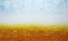 Northern Sunset - Large Original Abstract Landscape Painting