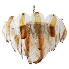 Amber Shells Chandelier by La Murrina