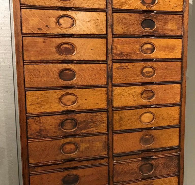Amberg S Imperial Letter File Multi Drawer Cabinet Circa