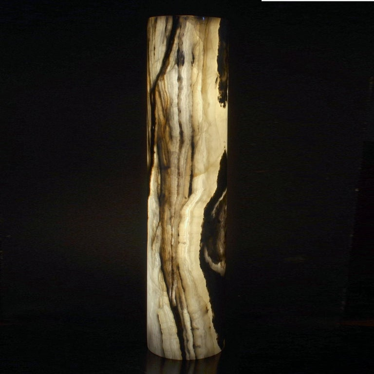 Ambient Floor Lamp In Onyx For Sale At 1stdibs