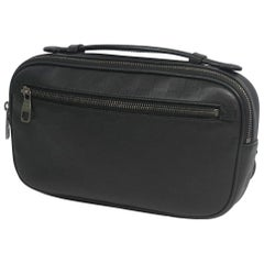 Ambler  Mens  Waist bag N41288  Onyx Leather