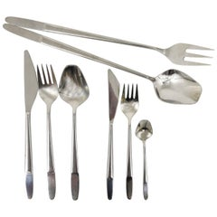 Amboss Austria 2070 Flatware Cutlery for Six Persons, by Helmut Alder, 1960s