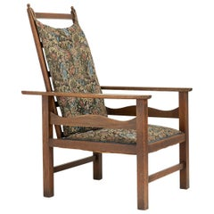 Ambrose Heal Oak Reclining Armchair