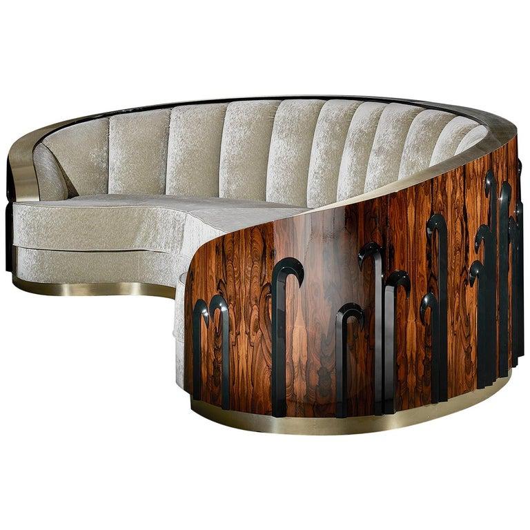 'Ameba' Limited Edition Sofa from Egli Design For Sale