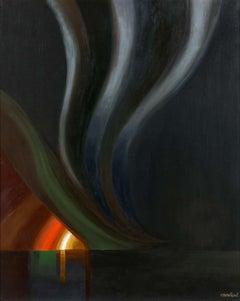 Amédée Ozenfant - La tornade au coucher du soleil, modern, surreal, french