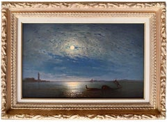 """Venice Lagoon by Moonlight"""