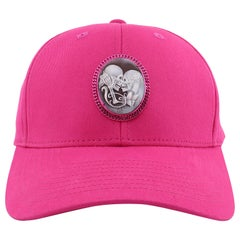 """Amedeo """"Endless Love"""" Pink Cameo Cap"""
