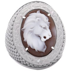 "Amedeo ""Lion"" Cameo Ring"
