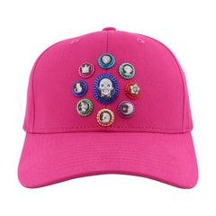 """Amedeo """"Modern Tiaras"""" Pink Cameo Cap"""