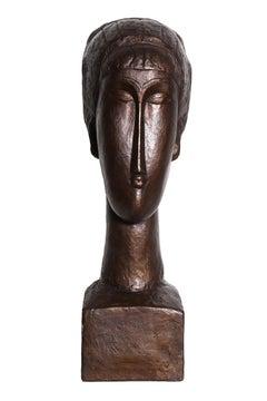 Tête de Femme, after Modigliani