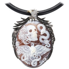 "Amedeo ""Rex Caeli"" One of a Kind Cameo Necklace"