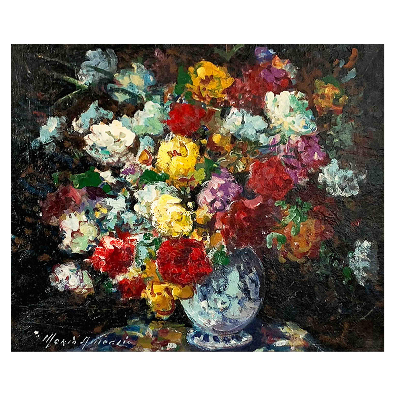 "Ameglio Merio ""Bouquet of Flowers"""