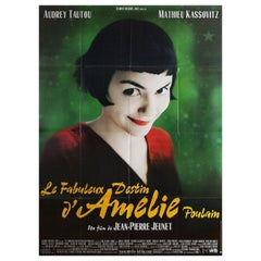 Amelie 2001 French Grande Film Poster